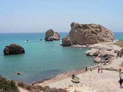 Afroditen Petra tou Romiou -kallio - Kypros
