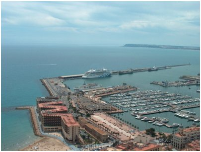 Espanja Costa Blanca Alicante satama kuva