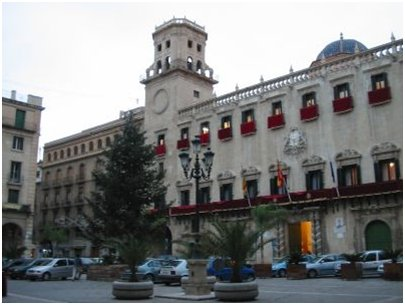 Espanja Costa Blanca kuva Alicanten kaupungintalo
