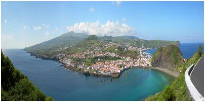Azorit kuva - Horta on kaupunki Faial-saarella
