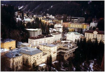 kuva Bad Gasteinin keskusta Alpit loma matka Itävalta