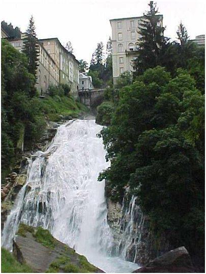 Gasteiner vesiputous Bad Gastein It�valta loma kuva Alpit loma matka