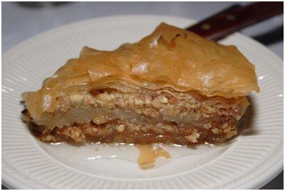 Turkkilainen Baklava leivonnainen kuva Turkki ruokakulttuuri