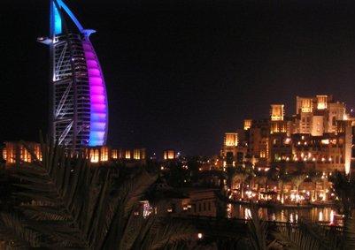 Burj al-Arab -tornihotelli - Dubai - Arabiemiirikunnat loma kuva