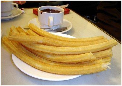Churro munkkitanko - espanjalainen aamupala