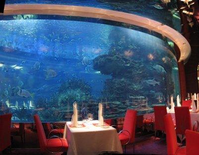 kuva Al Mahara -ravintola Burj al-Arab -tornihotellissa Dubaissa loma matka