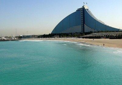 Jumeirah hiekkaranta ja rantahotelli Dubai Yhdistyneet Arabiemiraatit