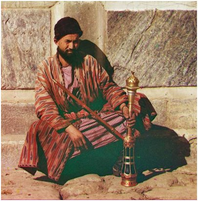 Sharm el Sheikh Egypti - Mies ja vesipiippu
