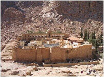 Egypti - Pyh�n Katariinan eli Siinain luostari