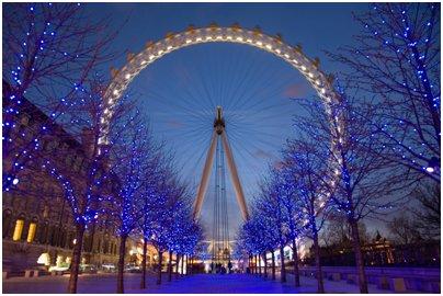 kuva Englanti Lontoo London Eye maailmanpyörä Lontoon silmä loma matka