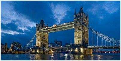 kuva Englanti Lontoo Tower Bridge silta loma matka