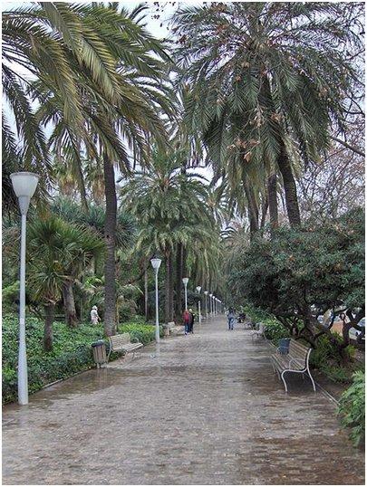 Parque de M�laga Costa del Sol aurinkorannikko loma matka