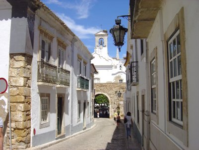 kuva Algarven p��kaupunki Faro Portugali