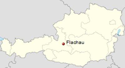 kartta Flachau sijainti Itävalta