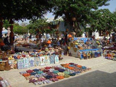 houmt souk markkinat tunisia