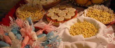 ruoka kuva - italialainen keitti� - sardinialaisia kakkuja  leivonnaisia ja makeisia