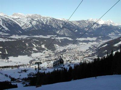 Schladmingin hiihtokeskus Itävallan Alpit loma kuva
