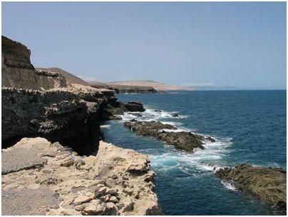 Espanja Kanariansaaret Fuerteventuran rannikkoa kuva