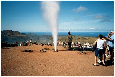 Espanja Kanariansaaret Lanzarote Geysiri Timanfayan kansallispuisto kuva