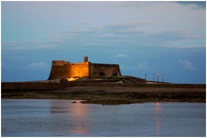 Espanja Kanariansaaret Lanzarote Castillo de San Gabriel Arrecife matka kuva