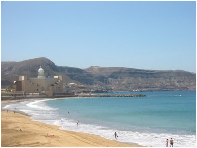 Canary Islands Kanariansaaret Las Canterasin hiekkaranta Gran Canaria matka kuva