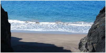 kuva Espanjan loma Kanariansaaret uimaranta matka