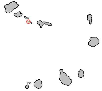 Kap Verde kuva Brancon saari sijainti kartta