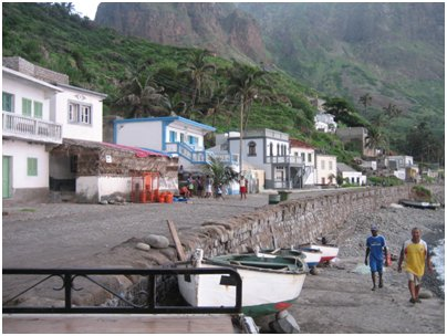 Kyl� Bravan saarella loma Kap Verdell� kuva
