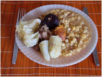 Kap Verde keitti� kap verdel�inen ruoka loma kapverdel�inen cachupa muhennos kuva