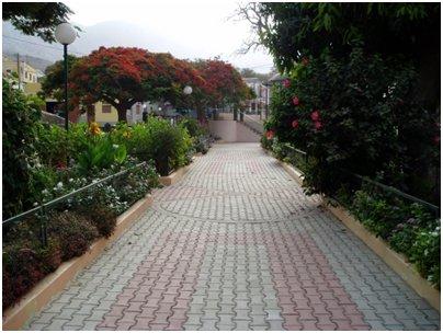 Ribeira Bravan asutuskeskus São Nicolaun saarella Kap Verdellä