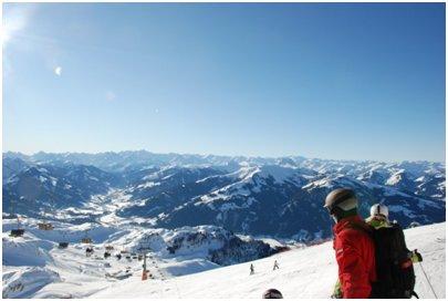 Itävalta kuva loma Saalbach-Hinterglemm matka Kitzbüheler Alppialue Itävallan Alpit