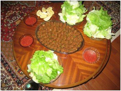 turkkilainen ruoka köfte lihapullat keittiö Turkissa