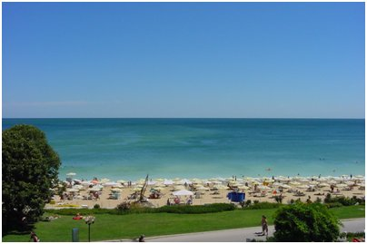 kuva Kultahietikko Bulgaria uimaranta hiekkaranta