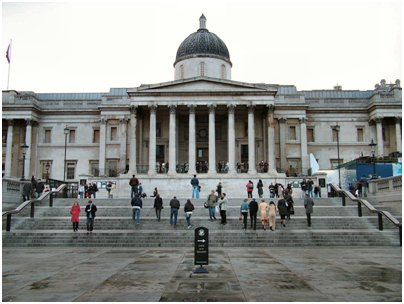 kuva Englanti Lontoo london national gallery kansallinen taidemuseo