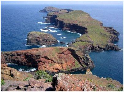 Madeiran rannikkoa
