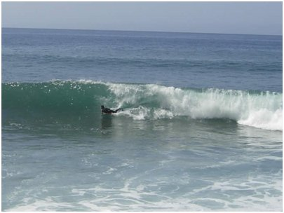 Madeiran Paul do Marissa kelpaa surffailla