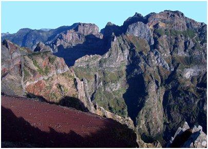 Madeira - Pico do Arieiro vuori