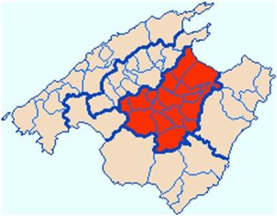 Espanja - Mallorca - Es Plan tasanko karttakuva