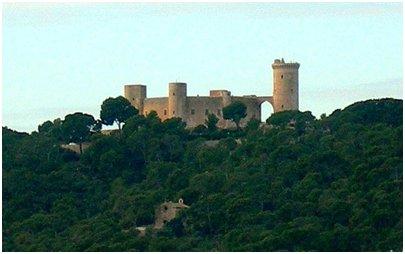 Espanja - Mallorcan loma - Bellverin linna