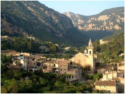 Espanja - Mallorca loma - Valldemosan kylä