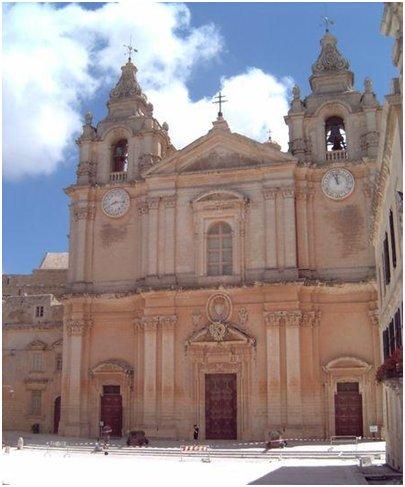 Malta kuva Mdinan katedraali