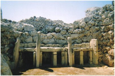 Malta matka Ggantija temppelit