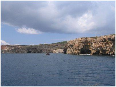 Maltan matka lomakuva Saint Paulin saari