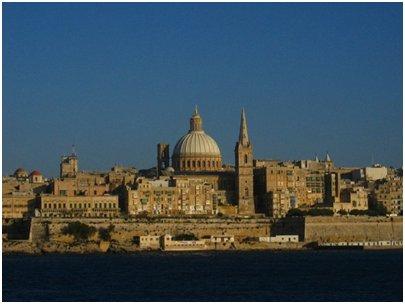 kuva Malta pääkaupunki Valletta