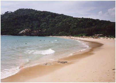 Nai Harn hiekkaranta kuva Phuket Thaimaa uimaranta loma matka
