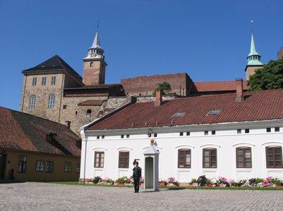 Akershusin linnoitus Oslo Norja loma kuva