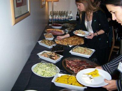 ruoka kuva portugalilainen keitti� seisova p�yt�