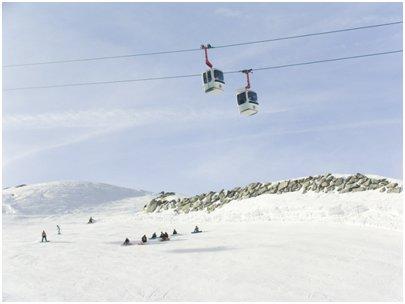 Chamonix Les Grands Montets Argentière hiihtokeskus Ranskan Alpit