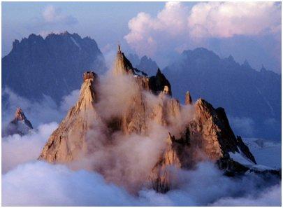 kuva Aiguille du Midin näköalapaikka Chamonix Ranskan Alpit