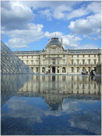 kuva Ranska Pariisi Louvre museo mona lisa maalaus loma matka Ranska